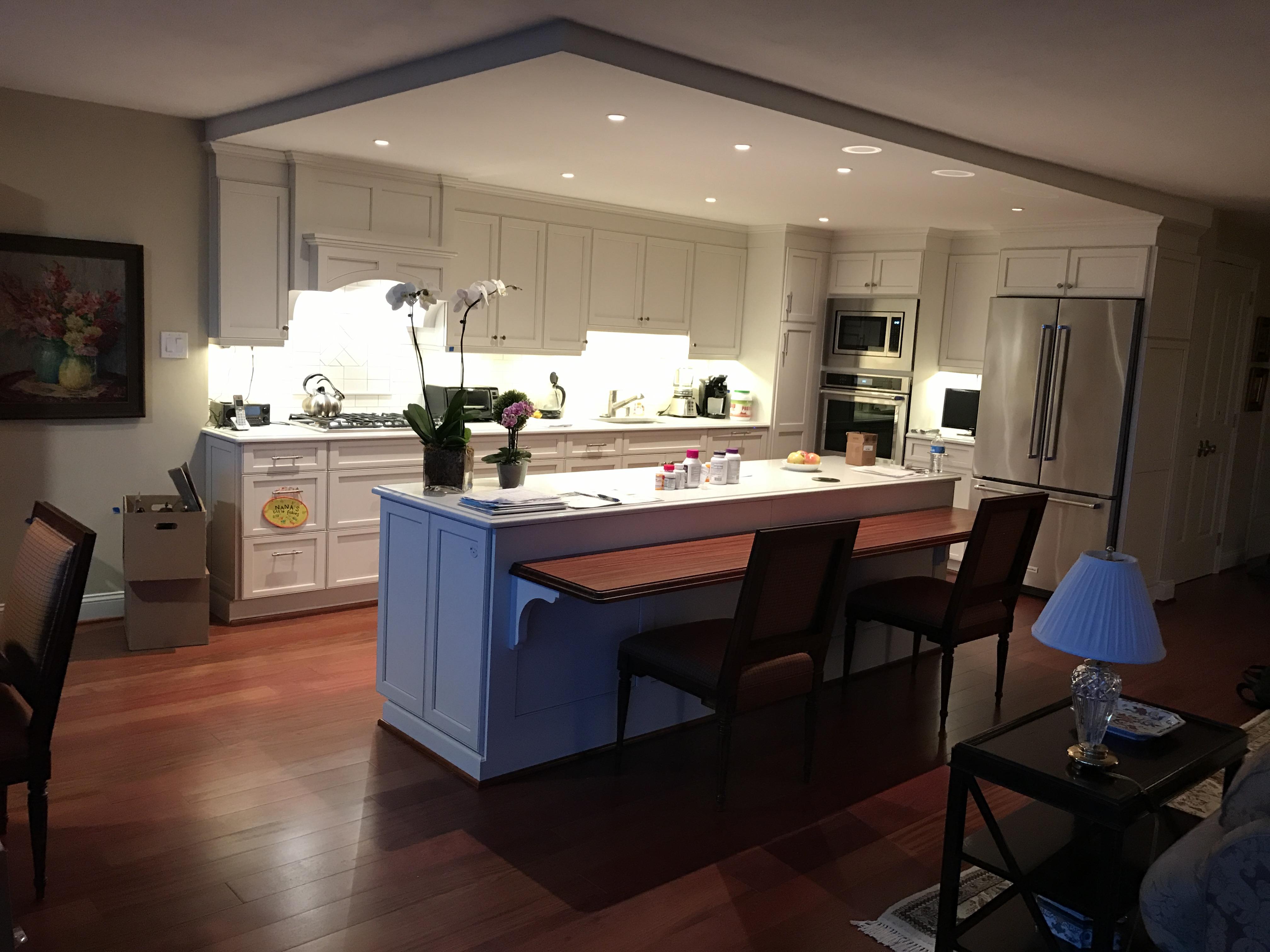 Large Kitchen Renovations